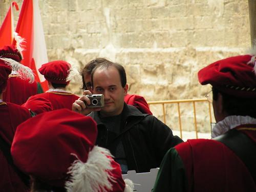 Gustau Moreno en acció