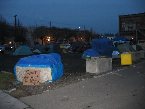 Oly Tent City 2/2/07 | by televiseus