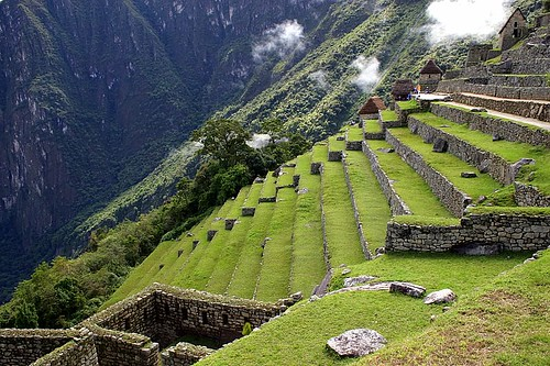 The terraces machu picchu the lost city of the incas for What are terraces