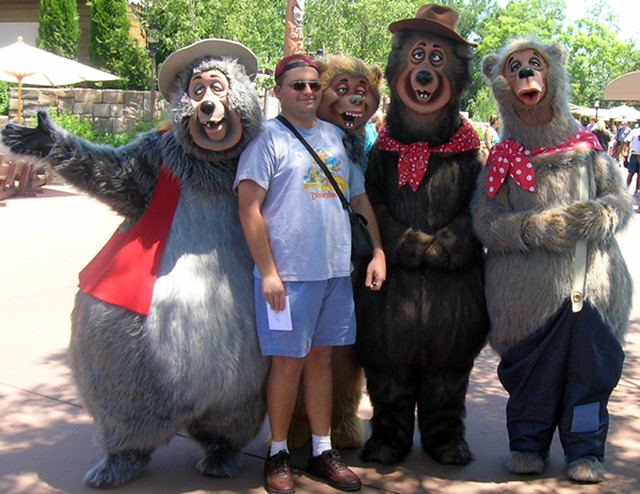 the country bears and i me with the country bears big