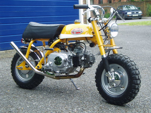 Honda Z50A Mini Trail Custom | This is my 1972 Honda Z50A Mi… | Flickr