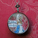Optical Lens Altered Art Pendant Beatrix Potter