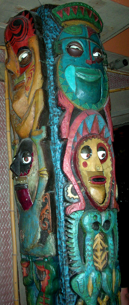 "Tiki Room Totem Pole Sings the Hawaiian War Chant | ""Tiki ..."
