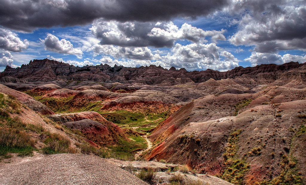 south dakota badlands wallpaper