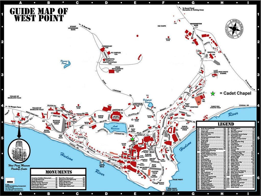 West Point Campus Map Park Ideas