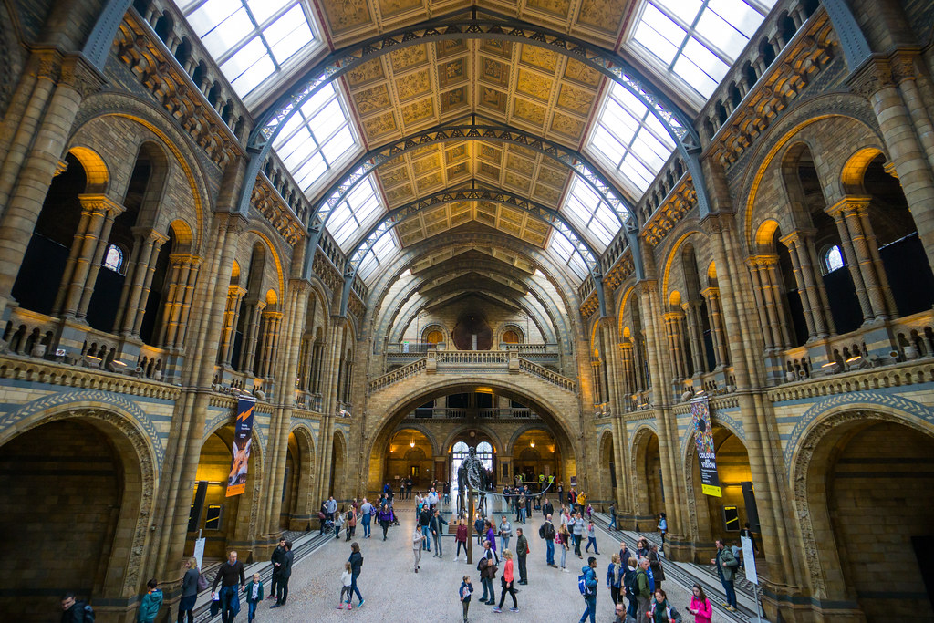 Day 1: Natural History Museum, London