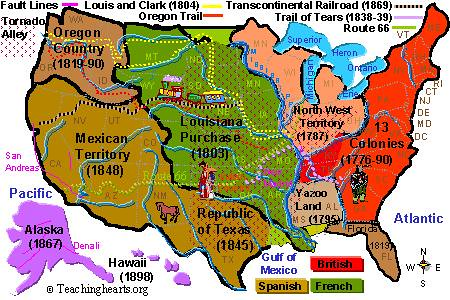 america s expansion 1800s Population and diversity in america: the colonial period  territorial expansion of the united states 1783-1853  population and immigration 1800-1910 .