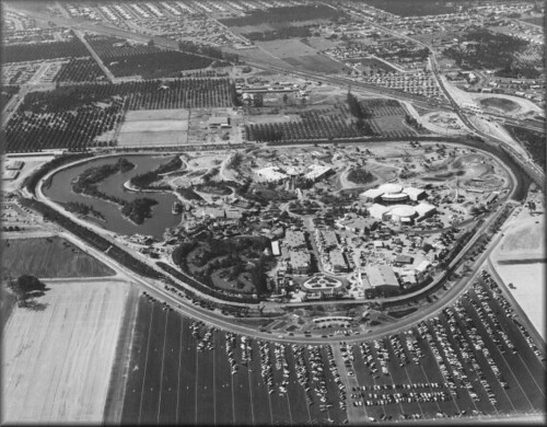 Early Disneyland From The Air Tom Simpson Flickr