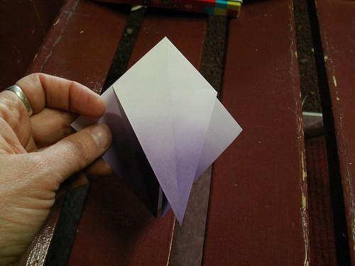 Origami pattern fleur de lys 10 origami fleur de lys pat flickr - Origami fleur de lys ...