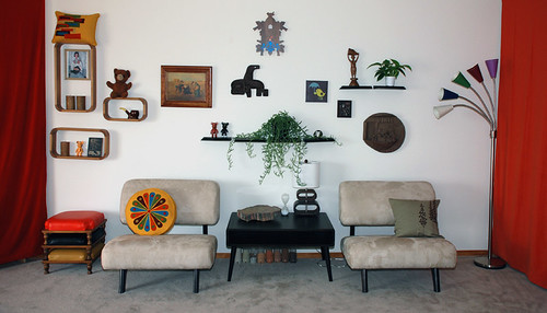 Living Room - Decorated! | by libraryman