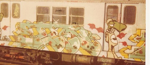 SEEN # 6 train early 80's (UA) | by JJ & Special K