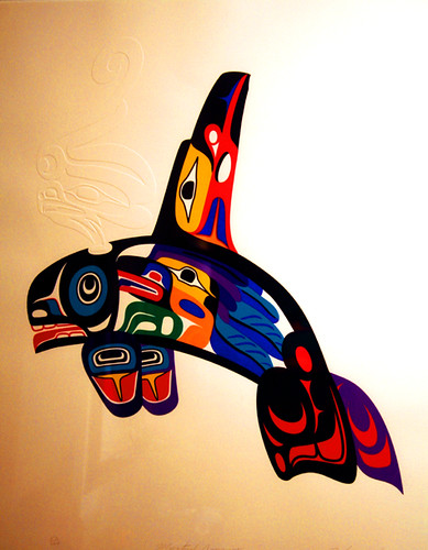 39 mystical journey 39 by marvin oliver modern print by for Native american tattoo artist seattle