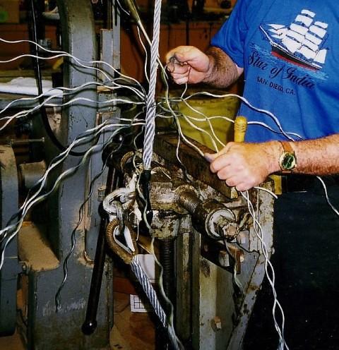 Rigging 101~ Liverpool wire rope splice   Flickr