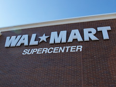 Walmart Supercenter sign | by Ron Dauphin