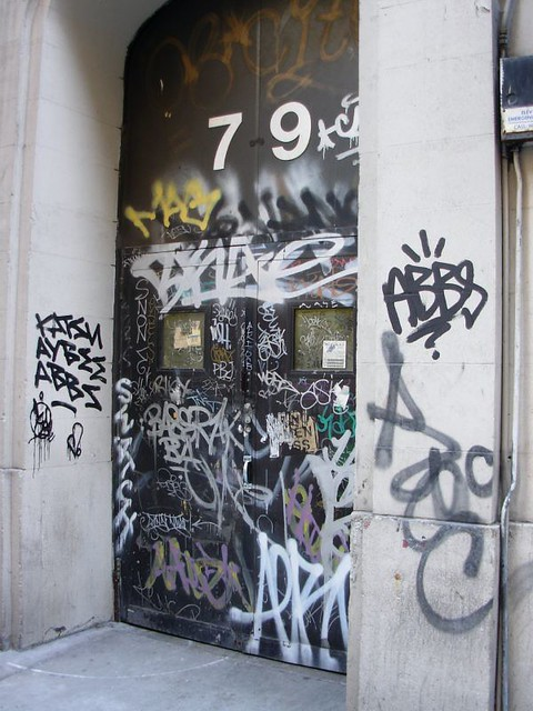 ... Grilled Door new york street graffiti SWATCH KATSU | by Rob React : grilled door - pezcame.com
