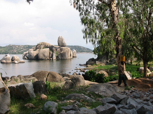 Bismarck Rock At Mwanza Tanzania Taken In 2004 In