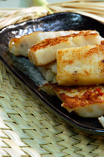 Chinese Turnip Cake (蘿蔔糕) | by Herman Au - http://www.hermanau.com