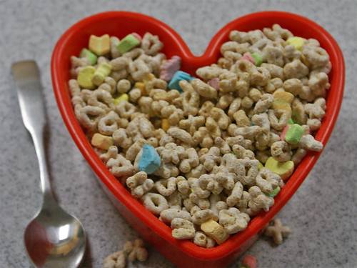 Blair S Lucky Charms Lucky Charms In A Heart Shaped Bowl