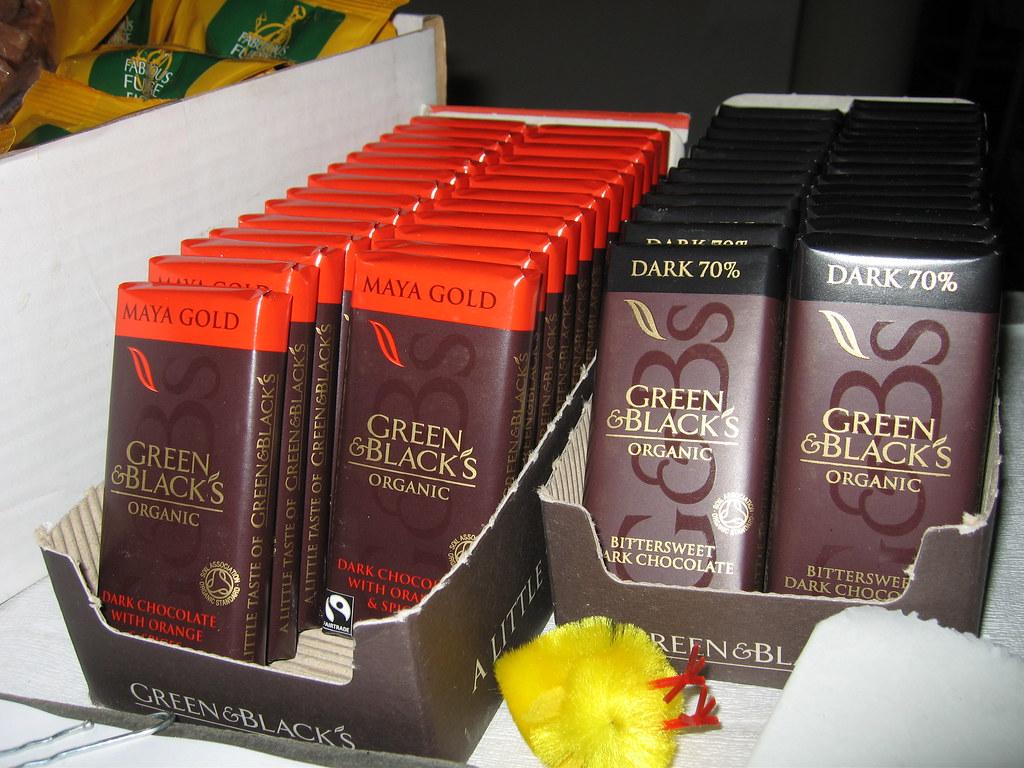 Green And Blacks Organic Chocolate Recipes Book