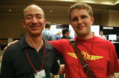 Jeff Bezos & Matt Mullenweg | by Scott Beale