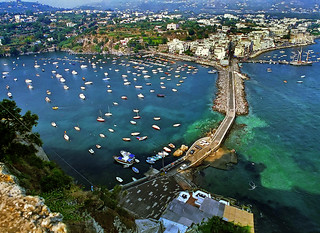 Ischia Ponte - from castle. '97 | by agedsenator
