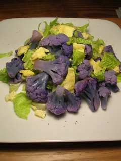 purple cauliflower salad 2 | by mercedes l.