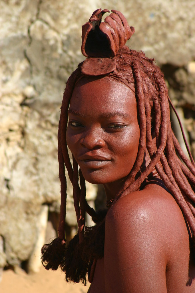Himba Woman Skeleton Coast Northern Namibia 2004 Flickr