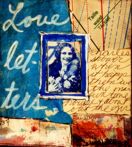 "collage: ""love letters"" by artjunkgrl 