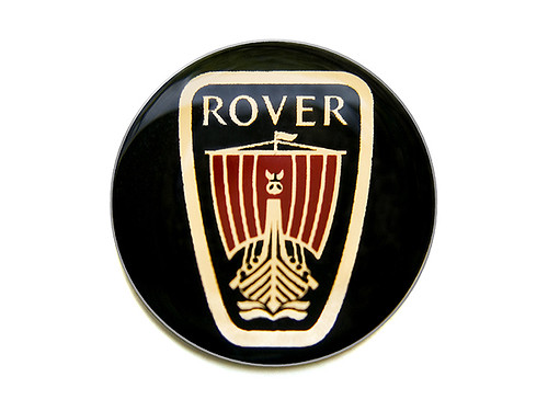 Rover logo sign : Rover logo sign or badge. -------- (PAR ...