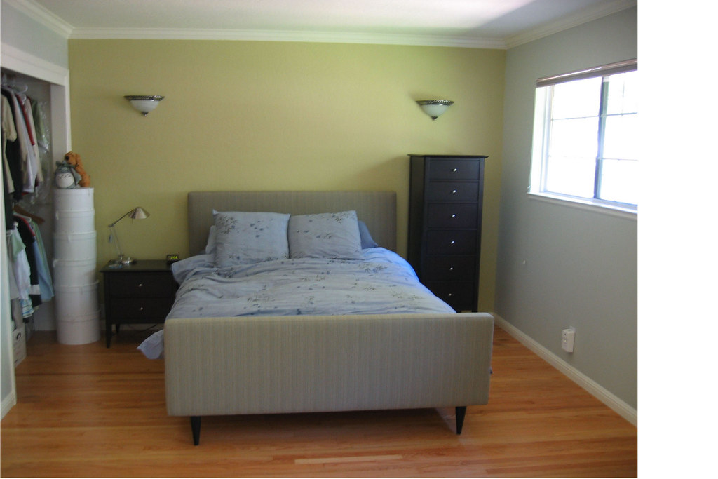 Bedroom redesign incorporated both existing and new for Redesign bedroom