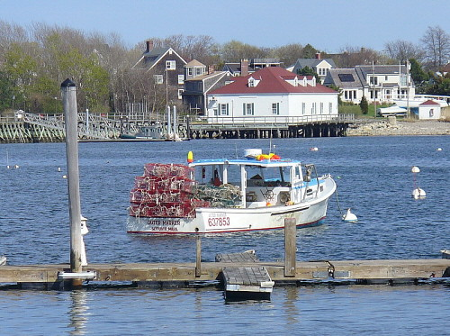 Lobster boat, Scituate, MA | Lorianne DiSabato | Flickr