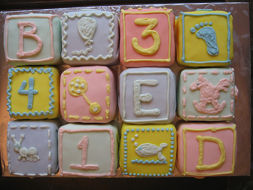 Alphabet blocks cake so cute c hong flickr for Alphabet blocks cake decoration