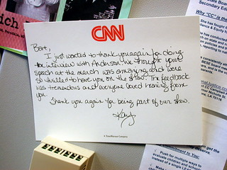 Thanks from CNN | by Editor B