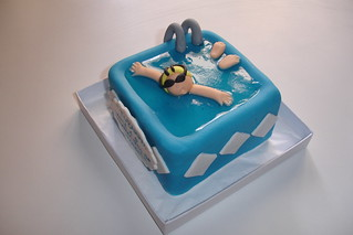 Mini Cake- The Swimmer | by *Ded's*