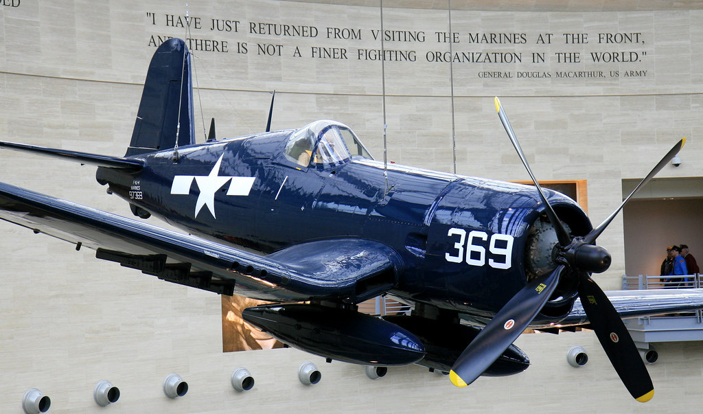 USMC Corsair | Corsair at the United Stated Marine Corps ...