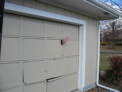 Guess Who Backed into the Garage Door? | by Write From Karen
