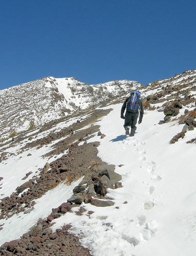 Arizona's highest Summit - Mount Humphreys - First Tracks in fresh snow | by Al_HikesAZ