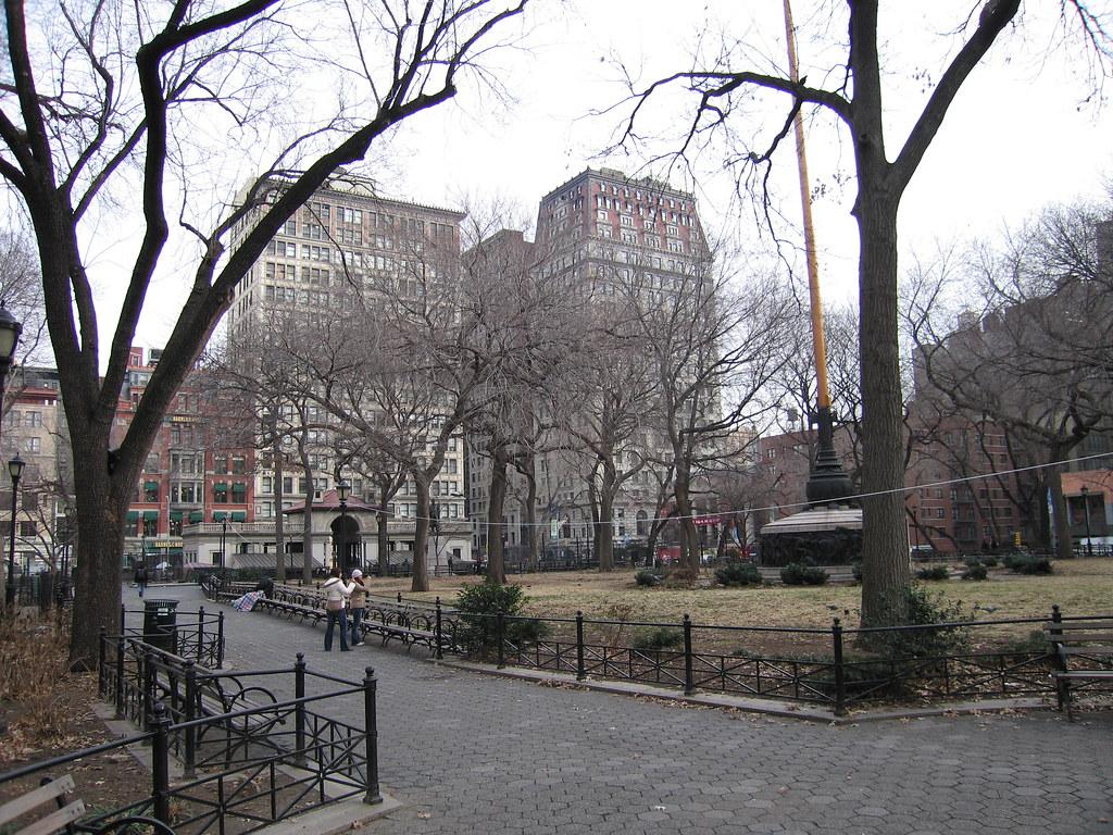 Union Square New York City December 2005 Union Square