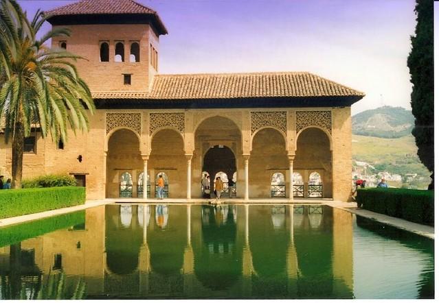 Alhambra Spanien Spain Die Alhambra Ist Eine