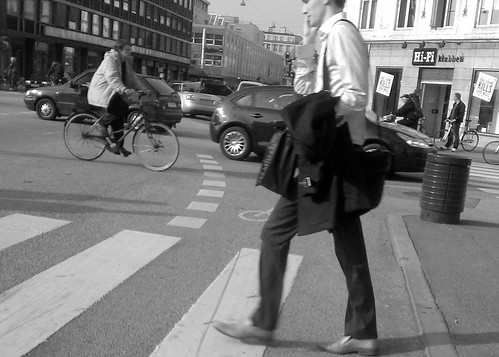 Business man crossing | by malouette