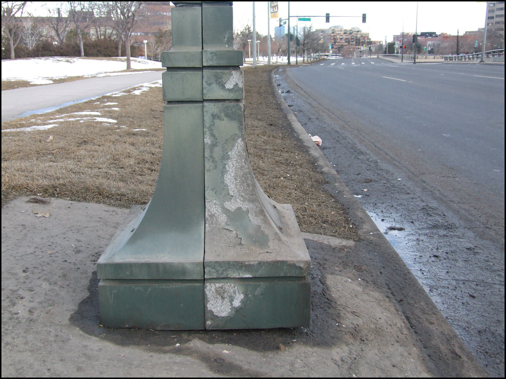 Magnesium Chloride Caused Corrosion This Sign Post Is