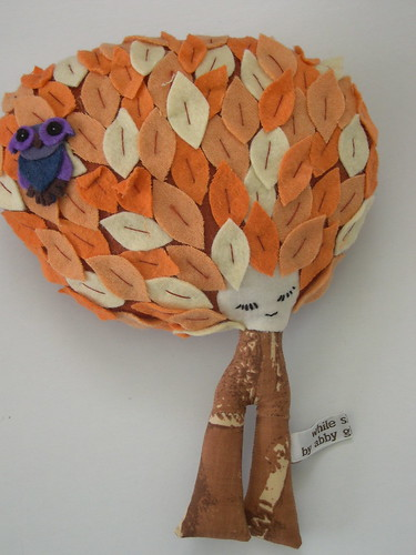 Fall Tree Doll - Small | by Abby Glassenberg