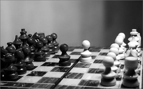 Conflict (Chess II) | by Cristian V.