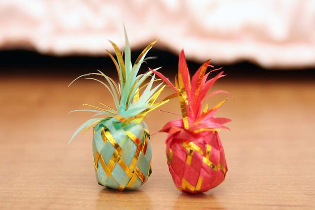 Pineapple Origami Pineapple Origami Bettybl Flickr
