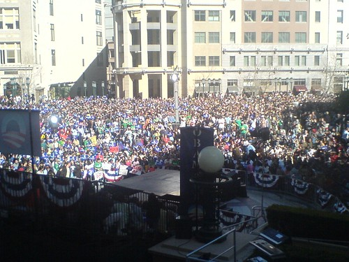 Obama Rally, Oakland | by oso