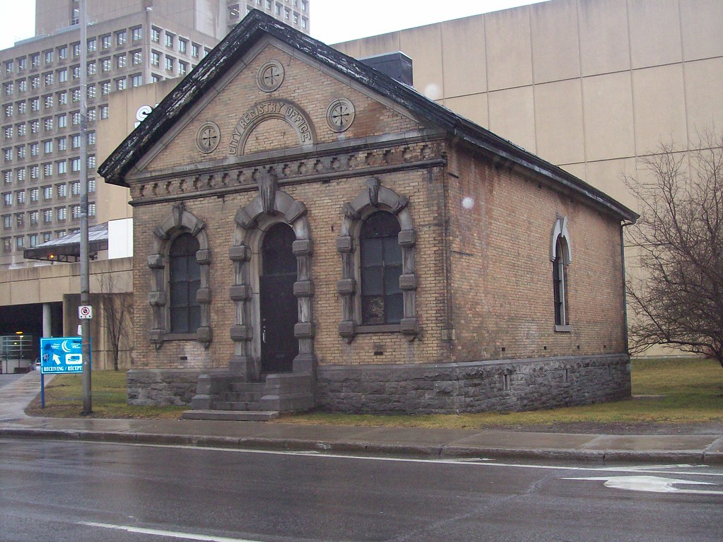 The Old Ottawa City Registry Office This Little
