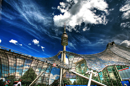 olympia city munich - HDR | by A.alFoudry