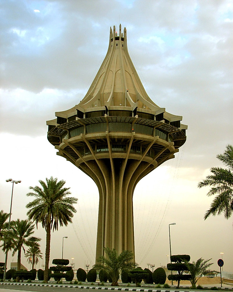 Al Kharj Water Tower Al Kharj Water Tower Contains A Water Flickr