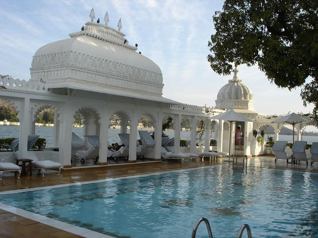 Swimming Pool Lake Palace Udaipur Rajasthan Province In Flickr