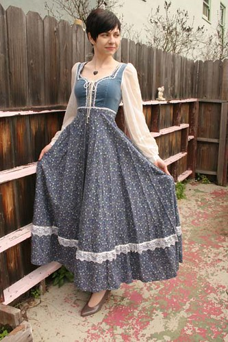 Found an 80\'s Gunne Sax gown new with tags!! : ThriftStoreHauls